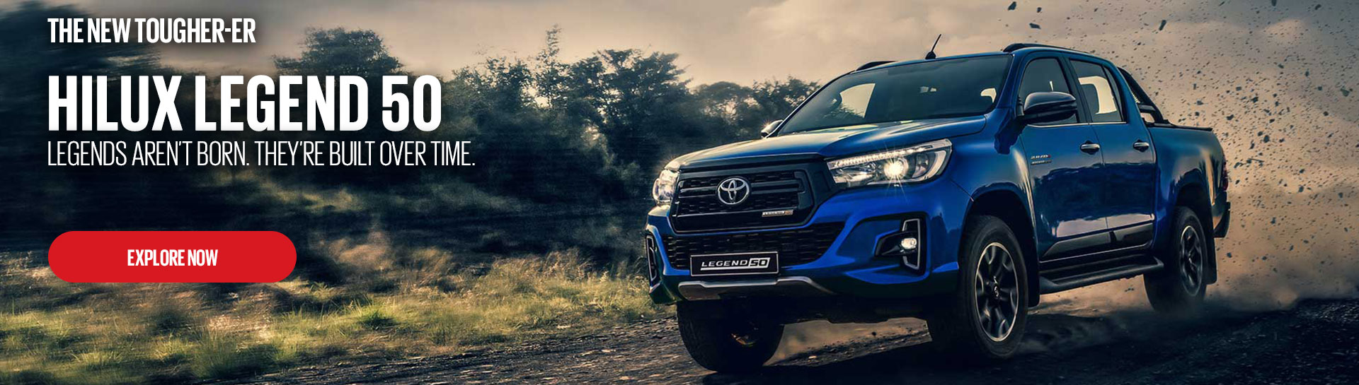 The Hilux Legend 50 Click to Explore
