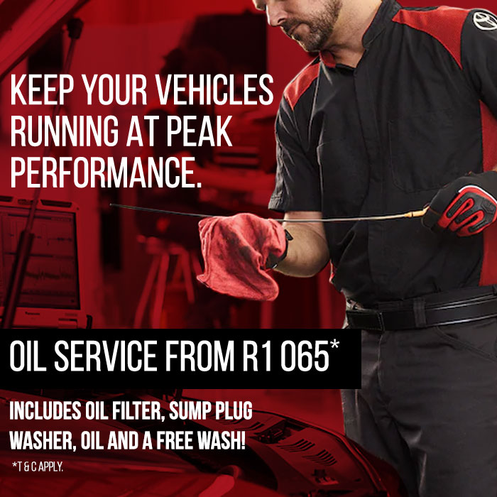Keep your vehicle running at peak performance with services at Rola Toyota Somerset West