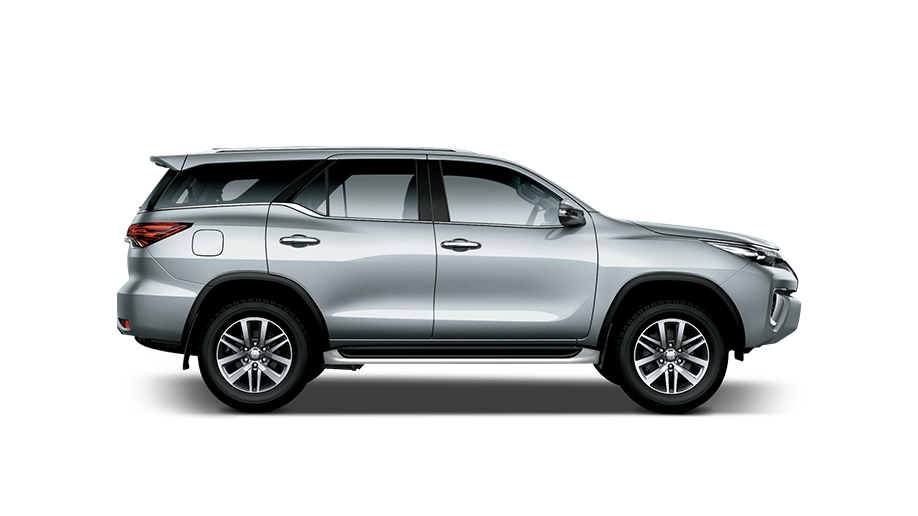The Fortuner 2.8 GD6 4X4 MT