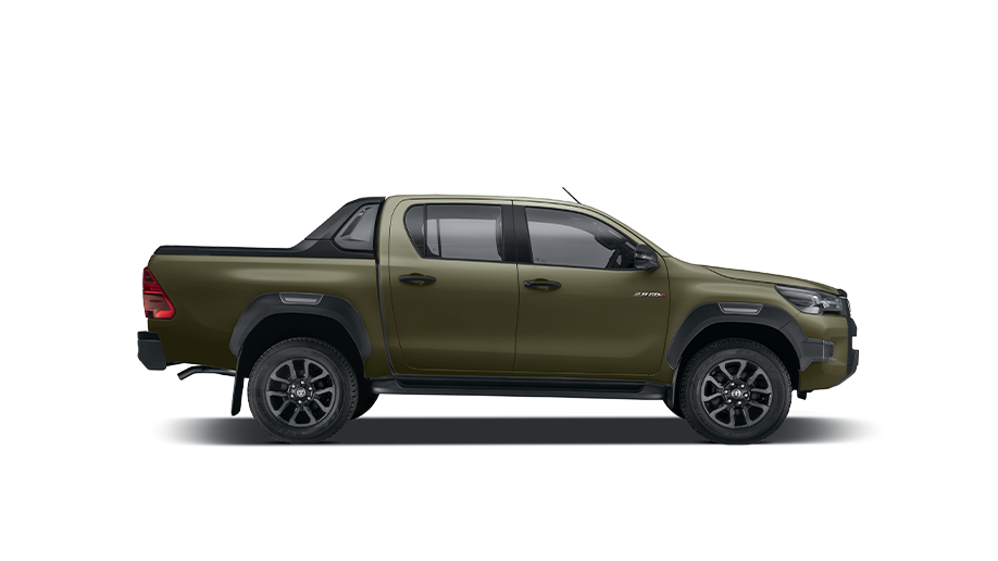 The Toyota Hilux Double Cab