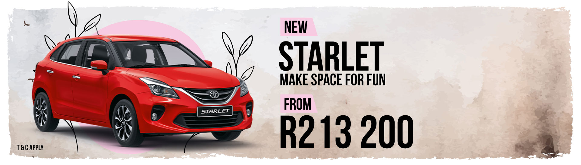 Toyota Starlet Offer