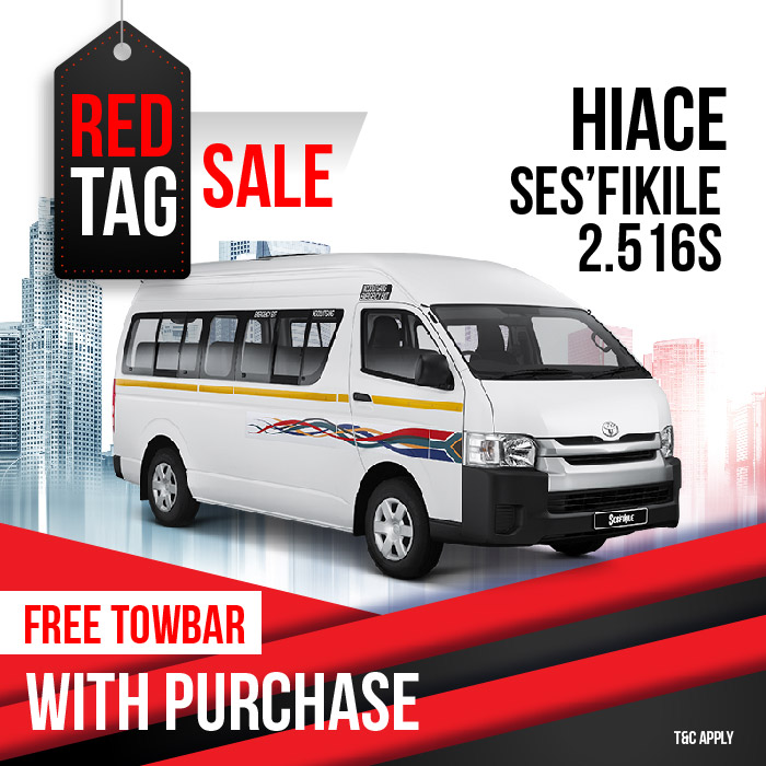 Red Tag Sale - Toyota Somerset West